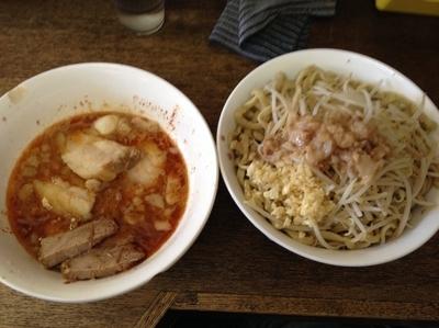 「つけ麺」@蓮爾 さんこま店の写真