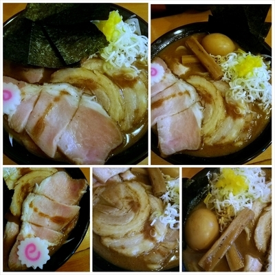 「特製中華そば(小) (150906)」@中華蕎麦 とみ田の写真