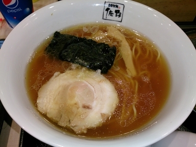 「醤油らぁ麺 ¥780」@自家製麺 佐野の写真