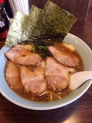 「チャーシュー麺1050円+大盛150円、硬め濃いめ」@らーめん晴れる屋の写真