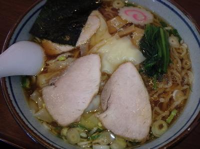 「ワンタン麺(860円)」@手打中華 とら屋の写真