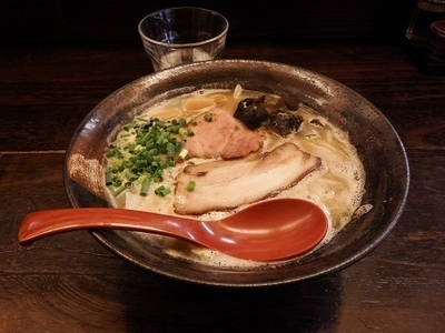 「常豚骨味噌」@札幌豚骨ラーメン 常の写真