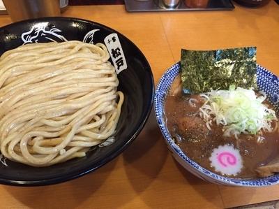 「半熟味玉つけ麺(並)」@中華蕎麦 とみ田の写真