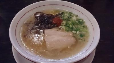 「赤(550円)」@麺ダイニング 福の写真