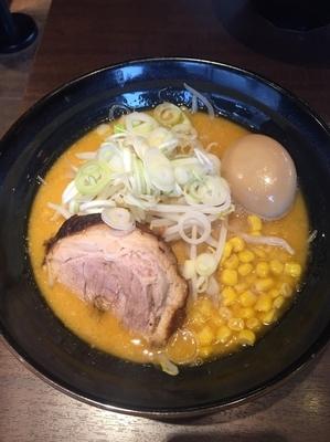 「味噌ラーメン味玉」@しょうゆのおがわや 橋本店の写真