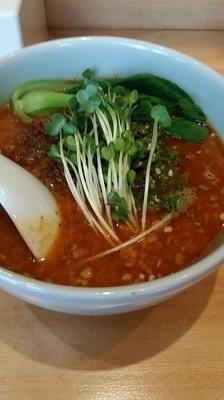 「激辛坦々麺」@担々麺本舗 辣椒漢 駒込店の写真