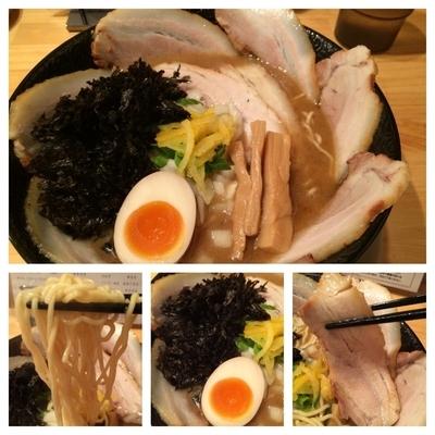 「肉増し煮干しそば   1000円」@ふくすけの写真