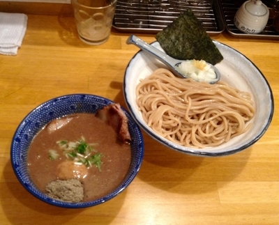 「濃厚煮干じめつけ麺」@麺屋 海心の写真