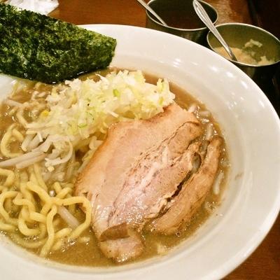 「豚骨ラーメン」@中華そば 七麺鳥の写真