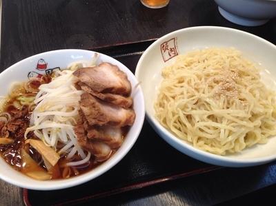 「つけ麺(大盛)」@喜多方ラーメン坂内 笹塚店の写真