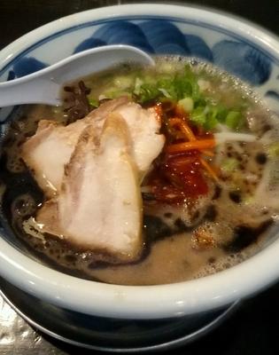 「ネオ濃豚 細麺 バリ」@濃厚豚骨 NOTOИ ノートンの写真