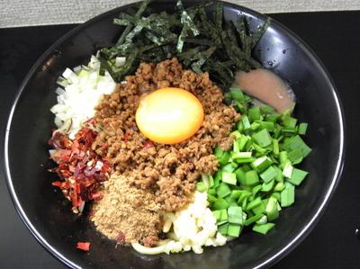 「【限定】台湾まぜそば」@自家製麺SHINの写真