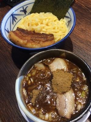 「角煮つけ麺」@東京豚骨拉麺 ばんから 東大宮店の写真
