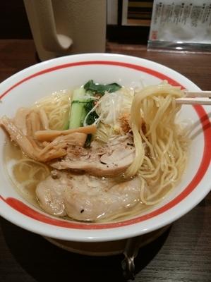 「鶏そば(塩)860円」@麺屋 空海 KOOKAI 品川店の写真