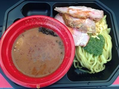「古都はピアノマンの「華麗つけ麺(+ローストポーク)」」@大つけ麺博プレゼンツ つけ麺VSラーメンの写真
