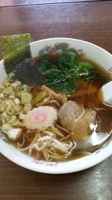 「ラーメン+大盛(450円+100円)」@ラーメンハウスの写真