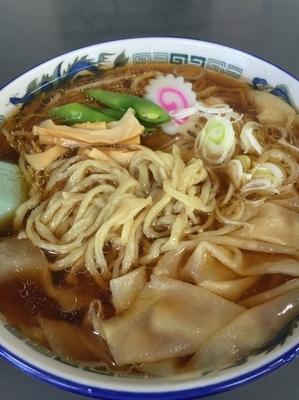 「ワンタン麺」@年貢町 茶釜食堂の写真