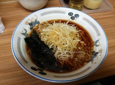「ネギラーメン」@らぁ麺 つねの写真