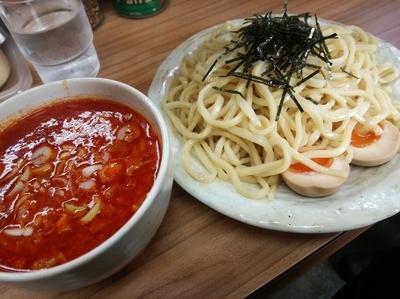 「辛味噌つけ麺+大盛」@らぁ麺 つねの写真
