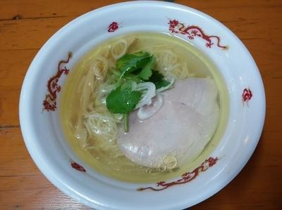 「飯田商店 塩らぁ麺 いのち」@大つけ麺博プレゼンツ つけ麺VSラーメンの写真