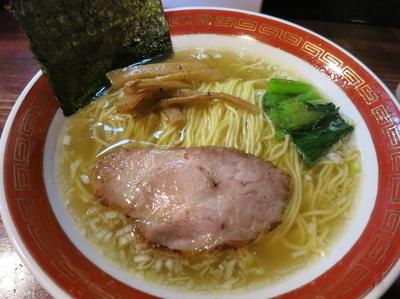 「塩 (細麺)  650円」@麺処 懐やの写真