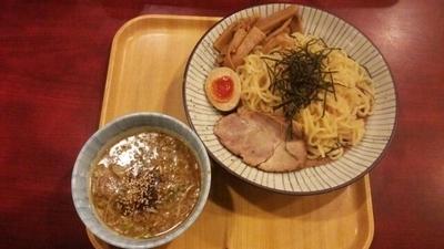 「つけ麺(正油)(あつもり)」@東京とんこつ とんとら 深谷店の写真