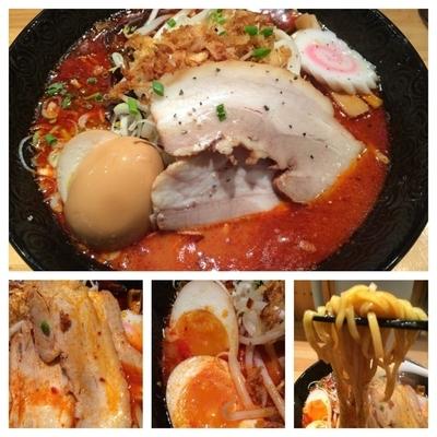 「数量限定麺  紅-beni-  850円」@ふくすけの写真
