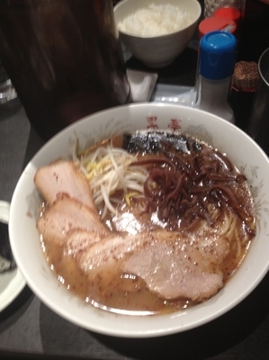 「チャーシュー麺」@黒亭 本店の写真