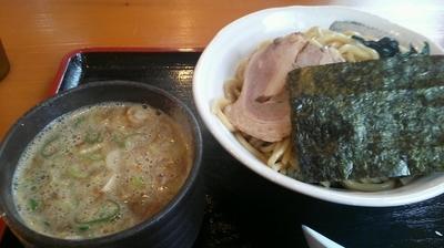 「濃厚つけ麺 780円」@原点 中村屋の写真
