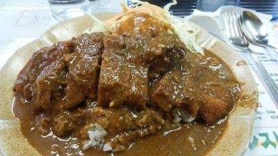 「カツカレー 700円」@レストラン ばーくの写真