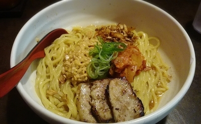 「納豆キムチからし麺 大盛 1000円」@ら~めん からしや 葛西本店の写真