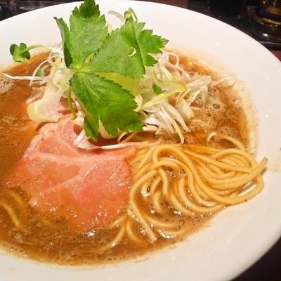 「超濃厚烏賊煮干中華そば」@麺屋 ねむ瑠の写真