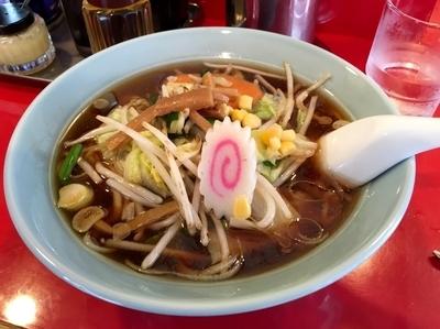 「野菜ラーメン ¥700」@メルシーの写真