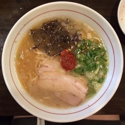 「赤 600円+ライス150円」@麺ダイニング 福の写真