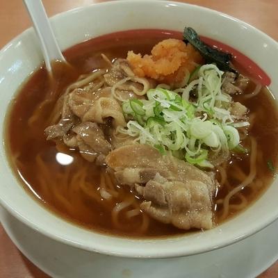 「肉中華そば」@幸楽苑 取手店の写真