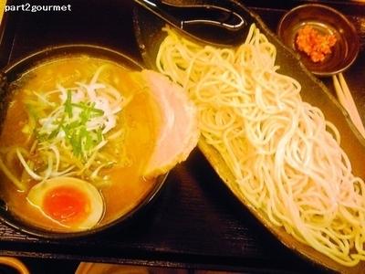 「ぱんどらつけ麺 味噌 (830円)」@麺屋ぱんどらの写真