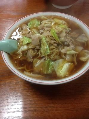 「スープ入焼きそば」@こばや食堂の写真
