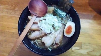 「濃厚魚介豚骨チャーシュー麺(大)」@MOUKOKUの写真