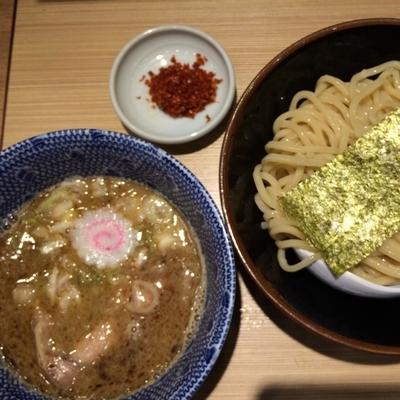 「赤辛つけ麺 730円」@舎鈴 クロスガーデン川崎店の写真