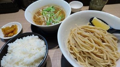 「つけ麺大盛+ライス」@GaGana RAMENの写真