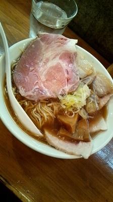 「いい肉の日限定『中華そば 青梅豚リッチ(¥990)』」@らーめん・つけめん いつ樹の写真