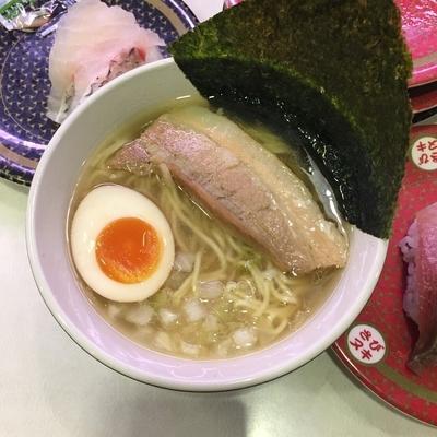 「コク旨 煮干しラーメン」@はま寿司 蒲田駅南店の写真
