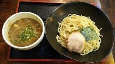 「つけ麺(太)(大盛)」@とんこつらーめん つけめん 鋼 HAGANEの写真