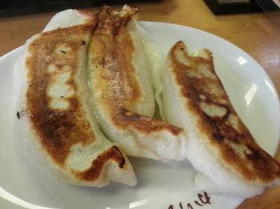 「ジャンボ餃子」@ひかり食堂の写真