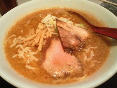 「味噌らーめん 800円」@うから家から コラッセ福島店の写真