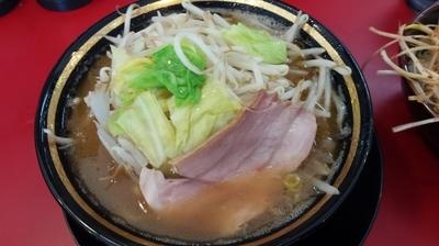 「野菜ラーメン」@家系ラーメン 熊田家の写真