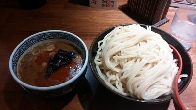 「辛つけ麺 熱盛 780円」@つけ麺専門店 三田製麺所 ヨドバシAkiba店の写真