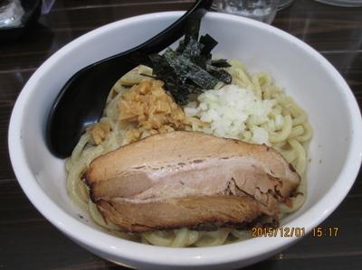 「油そば大盛 ¥630」@ちょもらん麺の写真