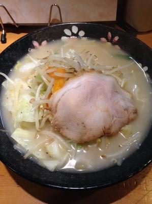 「野菜らーめん」@麺房 長谷川の写真