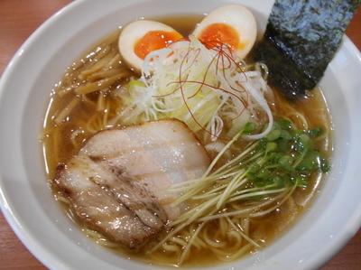 「追いにぼしラーメン750円+味玉100円」@麺厨房 武蔵の写真